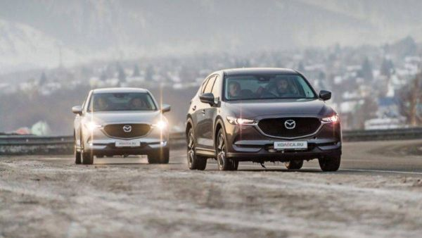 Give me a lift across lake Baikal: 60 kilometers on the ice of the Mazda CX-5