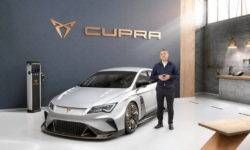 Cupra is preparing electric car e-Racer for touring car racing