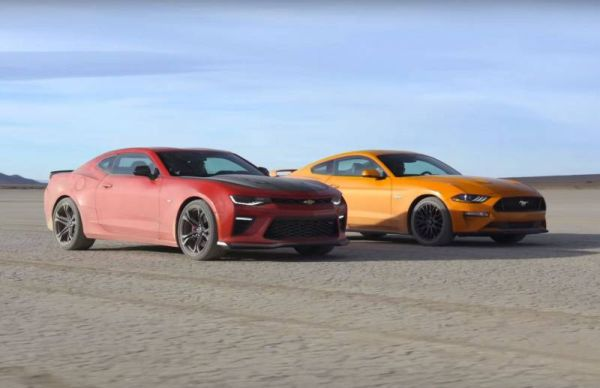 Autobattle: Ford Mustang GT vs. Chevrolet Camaro SS 1LE