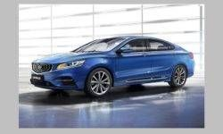 The new version of the sedan Geely Emgrand GT: official photos