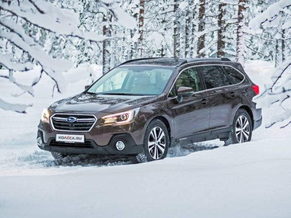 C eyes: test drive of the updated Subaru Outback