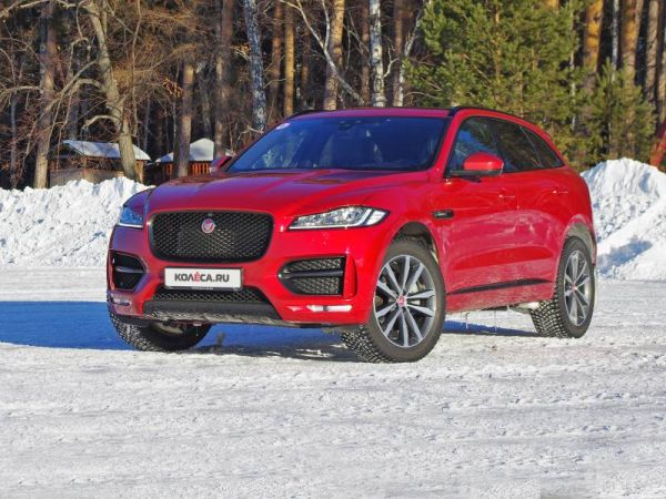 IRBIS inevitably: winter test drive the Jaguar F-Pace 2,0