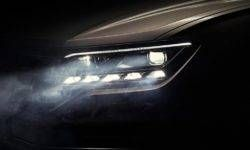 Volkswagen showed the new Touareg advanced optics