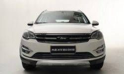 Zotye slightly updated crossover similar to the old VW Tiguan