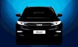 Opened the Zotye T600 crossover new generation