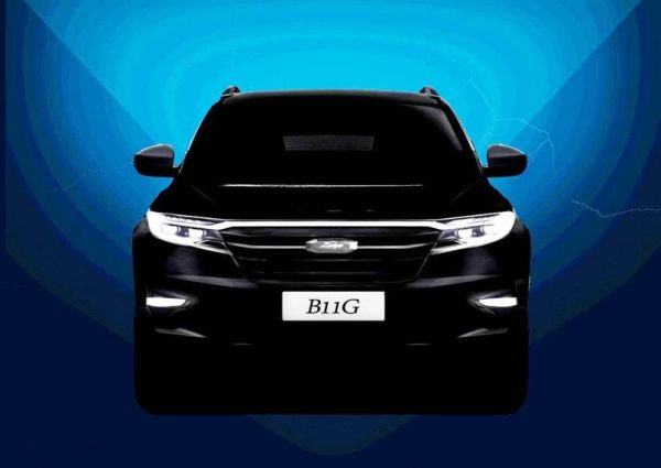New Zotye T600: the first image