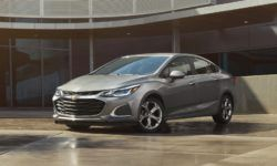 Presents the updated Chevrolet Cruze, Spark and Malibu