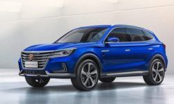 """Electric """"SUV"""": Roewe unveiled the crossover Marvel X"""