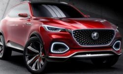 The company MG introduced the flagship SUV X-Motion