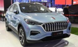Hongqi company showed its first crossover E-HS3