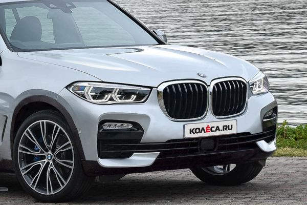 New BMW X5 appeared in spy photos with less camo