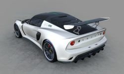 Inspired by the Formula 1: Lotus introduced the Exige Cup coupe 430 Type 25