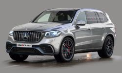 The new Mercedes-AMG GLS 63: first images