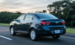 Chevrolet Cobalt sedan is testing the new generation