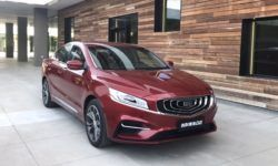 "Sedan Geely Emgrand GT with the ""filling"" Volvo: ""live"" photos"