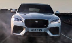 Jaguar is working on a new large crossover