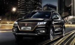 "Bestseller in ""gold"": the new crossover version of the Roewe RX5"