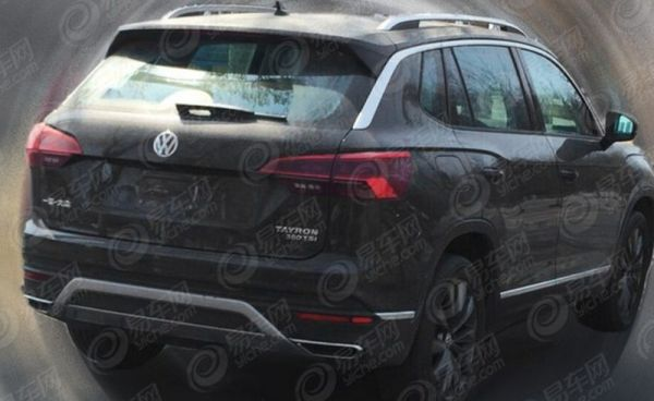 Volkswagen is testing a new crossover Tayron. The first photo