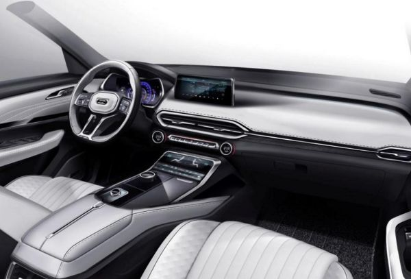 Zotye showed the interior of the crossover T600 is new generation