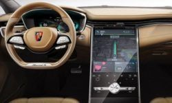 The screen is bigger than Tesla: Roewe showed the interior of the crossover Marvel X