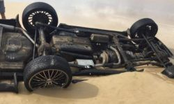 Innocent looking beach swallowed Range Rover