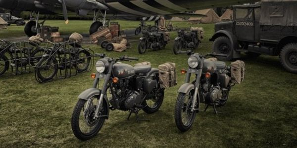 Motorcycle-a legend during the Second world war from Royal Enfield will hold a special
