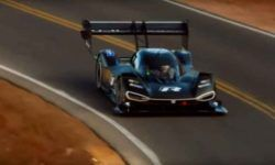 Volkswagen is testing the car I. D. R before the race