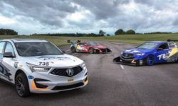 Acura have prepared for the race in the mountains sedan, crossover and supercar