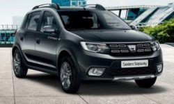 The hatchback Sandero Stepway had a budget version