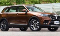 New crossover Brilliance V7: the flagship technology of the BMW