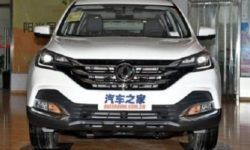 Chinese crossover Dongfeng AX7 received the update