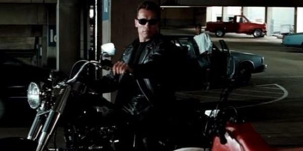 Harley Davidson Motorcycle From The Movie About The Terminator Sold