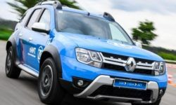 Company ZF showed hybrid Renault Duster