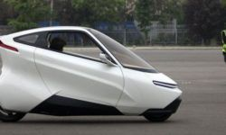 The Chinese have developed a two-wheeled vehicle-a motorcycle