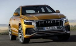 The New Audi Q8. Crossover sport Quattro. The first photo