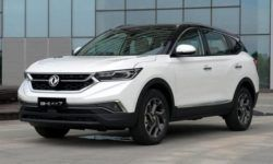 New Dongfeng AX7 will try to catch up with Geely Atlas and Haval H6