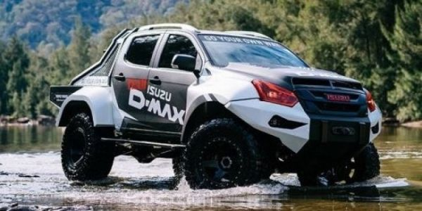 Isuzu Announces SUV For Extreme Off Road With A Clearance Of 370 Mm