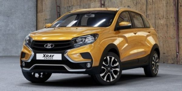 Lada Xray Cross Increased To 215 Mm Ground Clearance And Sport Mode