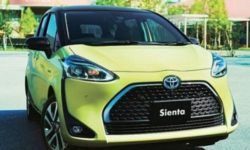 Toyota released a budget version of the compact MPV Sienta