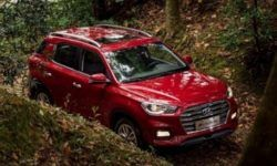 """Hyundai is testing a seven-seat crossover in the """"body"""" of the new ix35"""