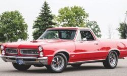 Classic muscle car Pontiac GTO turned into a unique pickup