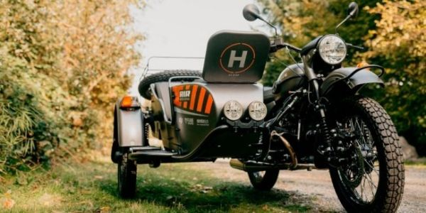"""Ural has introduced a new motorcycle with a drone – """"Ural Air"""""""