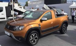 Crossover Dacia Duster, got a version of the pickup