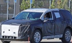 The prototype of Buick SUV was spotted on public roads in Michigan