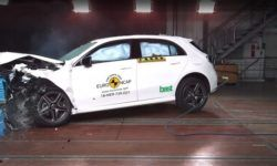 Euro NCAP has conducted crash tests of the new Mercedes A-Class and Lexus ES