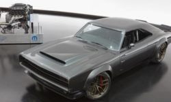 Restomod Dodge Super Charger first got 1000 horsepower engine Hellephant