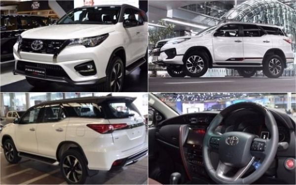 Toyota showed in Thailand updated crossover Fortuner TRD