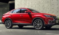 The cross coupé on the basis of the Changan CS75 SUV: another room, a more powerful engine and Aisin 8АКП