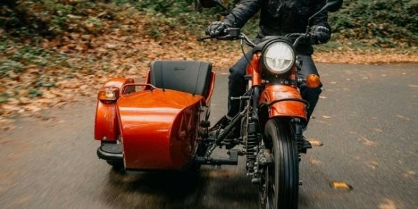 Charged in America: the Urals showed electric motorcycle