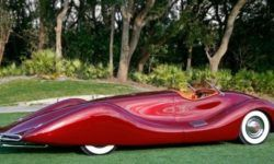 The fire in California destroyed the unique Roadster 1948